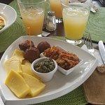 Antiguan sampler platter
