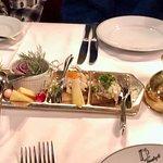 Tennstopet - pickled herring tray