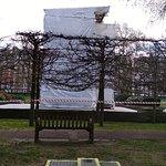 Memorial under repair