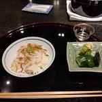 Sakura shrimp rice