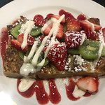 Oh, that Brunch French Toast! Wow. You can order it as a side, instead of a whole order.