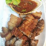 Fried Crispy Pork with Dipping Sauce