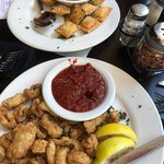 Toasted Ravioli & Calamari