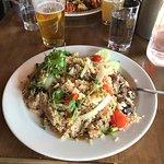 HUGE Plate of food!