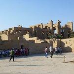 looking towards the inner city of Karnak