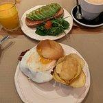 Amazing, fresh breakfast, amazing latte 100%