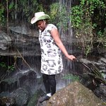 At Kitum cave, Mt Elgon, Kenya. This is a lovely place to visit for both adventure and bird watching.