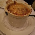 French Onion Soup, enough for 2 to share.