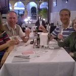 Four Very happy diners!