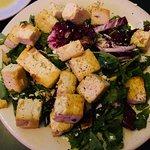 Small Salad with Tofu Added