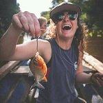 Programa pesca de pirañas rió amazonas