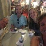 We always go to Paciugo for gelato!