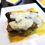Deliciosos platos, única gastronomía en Traiguén.