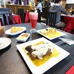 Un rico menú en Dakata Pub Restaurant
