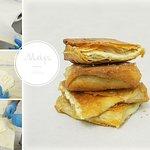 Τραγανό φύλλο αέρος με γέμιση φέτας! Chruncy pastry with feta cheese!