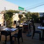 Notre terrasse est ouverte !!!!😎😎