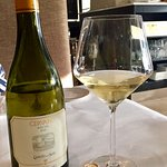 The highlight of our evening; our white Italian wine, Cervaro Castello de La Sala, 2016, from An
