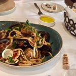 Their Linguini di Mare recipe...nothing to rave about!