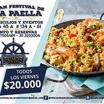 """""""El Gran Festival de la Paella"""" todos los #VIERNES así que no te lo puedes perder te esperamos!!! Info/ Reservas al 311 3222004 Cra 45 A #134 A - 65"""