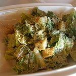 unique flavoured Caesar salad