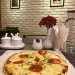 Thin crust Margarita Pizza