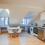 Espace cuisine/salle à manger du Loft