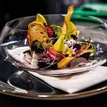 Goats Cheese, Pickled Beetroot & Apple Salad