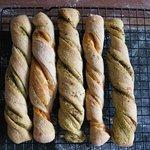 Bread sticks from the Italian bread class