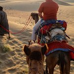 It was first time to have camel ride in my life, how ever i could not capture myself but it was fun