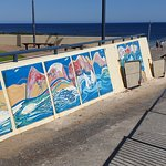Normanville Kiosk and Cafe artwork on access to jetty