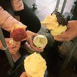 Our last gelato in Bologna before departure.