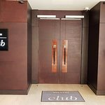 Entrance to the Club lounge