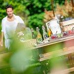 Schweizerhof Flims Garden in Summer