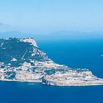aerial view: Rock of Gibraltar