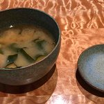 very delicious miso soup