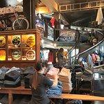 Memorabilia and clothes all mixed up at Export 71