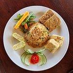 Vegetarian Indo Plate