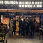 Always good times, great people, amazing food and Incredible service! #TheQuinoabistroandbar