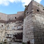 Inner castle walls