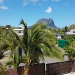 View from balcony to Le Morne