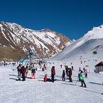 Las Leñas centro de ski