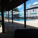 Bar serviced pool