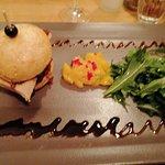 Burger foie gras
