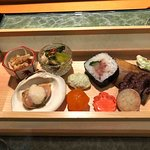 the playful and delicious hassun course