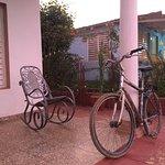 Veranda and rocking chairs