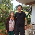 Our lovely hostess, Tata, on the left