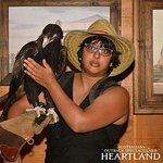These photos are of me with Soren the wedge tailed eagle and Baretta the horse!
