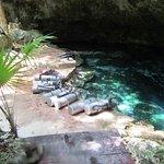 Cenotes Tajma-ha. Entry point.