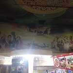 Lucky Dhaba - Beautiful wall paint inside