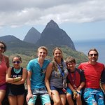 Viewing of Twin Pitons